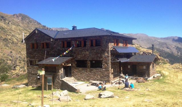 El refugio del Comapedrosa está gestionado por Vallnord- Pal Arinsal