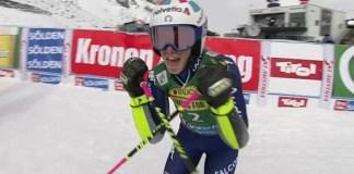 Marta Bassino estrena la temporada con su segunda victoria en la Copa del Mundo, compartiendo podio con Federica Brignone y Petra Vlhova.