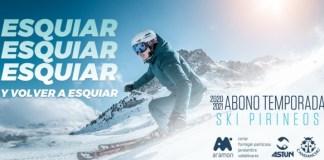 El abono accede a 390 Km de pistas esquiables