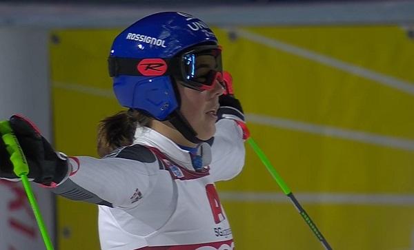 Petra Vlhova ha sudado la victoria en el paralelo de Lech, teniendo que remontar en todas las rondas menos en la final.