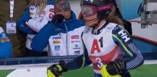 Vigente subcampeona del mundo de slalom, Anna Swenn-Larsson no podrá defender su plata en Cortina d'Ampezzo.