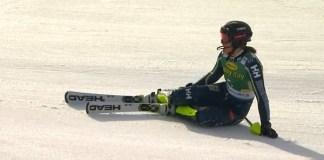 Anna Swenn-Larsson no levanta cabeza esta temporada y ahora se ha roto un tobillo.