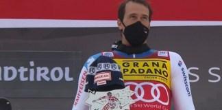 Ramon Zenhaeusern, vencedor del slalom de Alta Badia, el primero de la temporada.