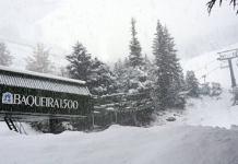 La estación abrirá con nieve hasta la bandera