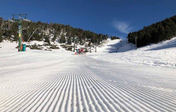 El centro tendrá todo el desnivel esquiable abierto