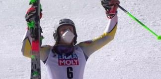 Victoria de Kristoffersen, la segunda de la temporada, en el segundo slalom de Chamonix.
