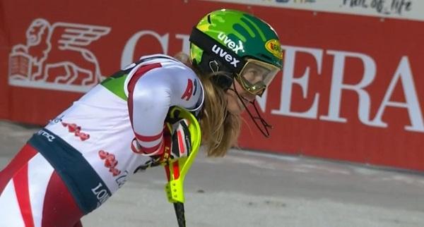 Katharina Liensberger ha 'explotado' en este inicio de temporada, rondando siempre la victoria.