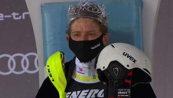 Linus Strasser ha sido el mejor en el slalom de Zagreb sobre una nieve imposible y ha estrenado su palmarés en la Copa del Mundo.