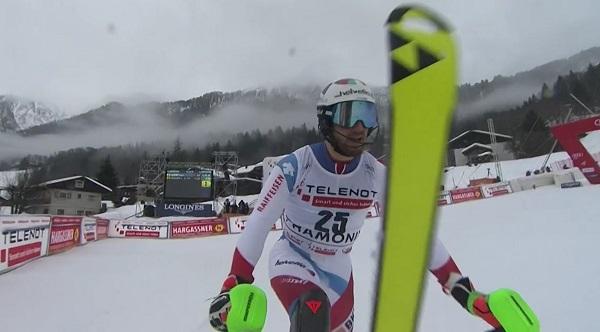 Remontada de 25 puestos de Luca Aerni que le ha dejado a pie de podio.