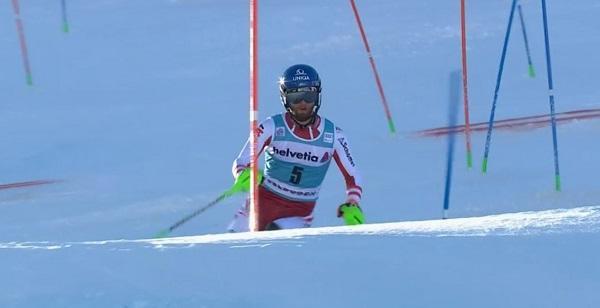 Primer slalom victorioso del austriaco Marco Schwarz, hoy en Adelboden.