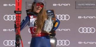 Segunda victoria del fin de semana para Sofia Goggia en Crans Montana.