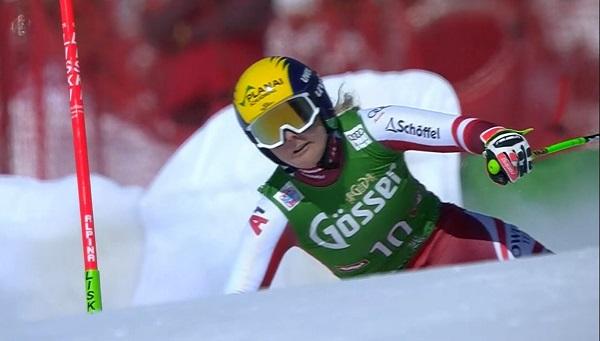 Primer podio en descenso para la austriaca Tamara Tippler.