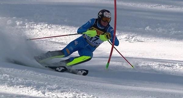 Vinatzer ha desaprovechado su opción de medalla en una segunda bajada con muchos problemas y errores.