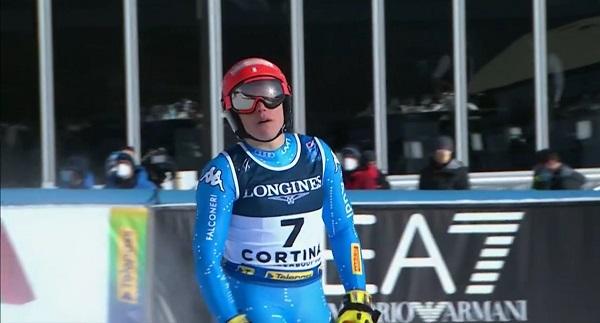 Brignone ha sidola más rápida en el super G. El disgusto llegaría en el slalom.