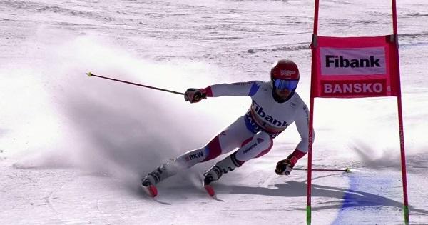 Loic Meillard ha tirado la carrera en la segunda manga tras ser segundo en la primera.