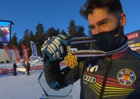 Lucas Eguibar, campeón del mundo de SBX.