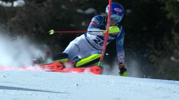 Shiffrin ha logrado su novena medalla en un Mundial y supera a Vonn como estadounidense más laureada.