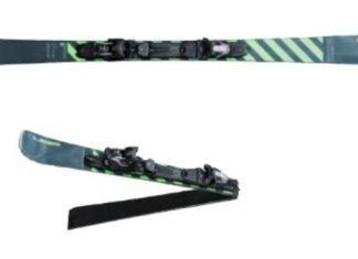 El esquí posee un mecanismo de cuatro ejes al desplegarlo