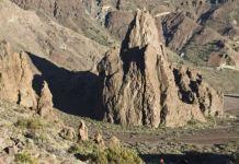 Una imagen de Roque de la Catedral del Teide