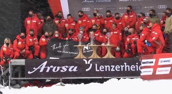 Segunda Copa de Naciones consecutiva para Suiza, cuarta en su historial.