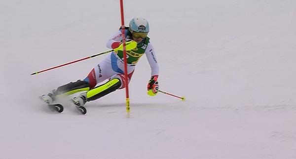 Wendy Holdener sigue buscando la ansiada primera victoria en slalom.