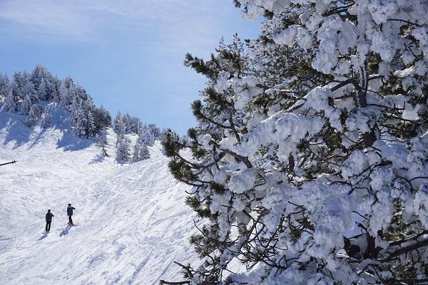 Reciente imagen de Baqueira Beret tras la nevada del fin de semana