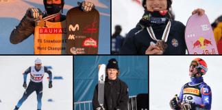 Hasta cinco deportistas han conseguido buenos resultados este inverno
