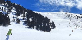 Una imagen de las estaciones de Lleida del Pallars