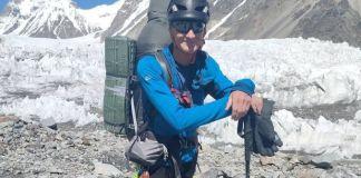 Una imagen del alpinista Rick Allen