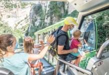 Los trenes turísticos de FGC han ido a más este verano. FOTO: FGC