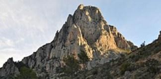Una imagen del monte Puig Campana de Finestrat
