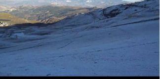 Así ha amanecido Sierra Nevada