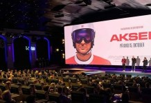 Estreno en los cines noruegos de 'Aksel', el documental sobre el campeón noruego. FOTO: Facebook ALS