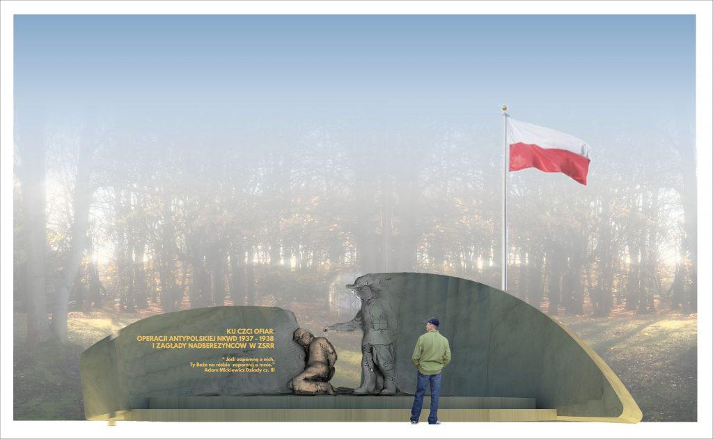 """Chcą zbudować pomnik pamięci """"akcji antypolskiej"""" NKWD"""