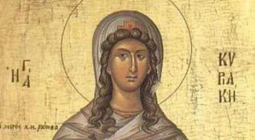 Αγρυπνία επί τη εορτή της Αγίας Κυριακής στον Ι.Ν. Αγ. Μαρίνης Ν. Φιλαδελφείας