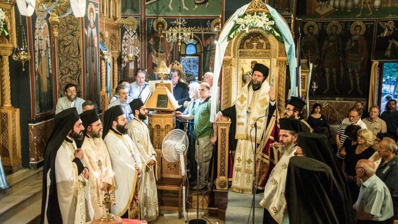 Η Εορτή του Αγίου Πνεύματος στην Ι.Μ. Νέας Ιωνίας και Φιλαδελφείας