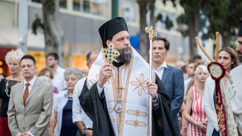 Μεθέορτος Εσπερινός και Λιτάνευση Ιεράς Εικόνας Αγ. Ιωάννου Προδρόμου στη Ν. Φιλαδέλφεια