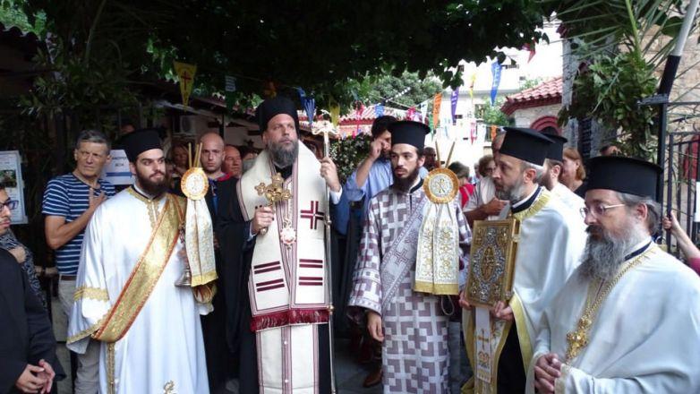 Μεθέορτος Εσπερινός και Λιτάνευση Ιεράς Εικόνας Αγ. Φανουρίου στο Ηράκλειο Αττικής