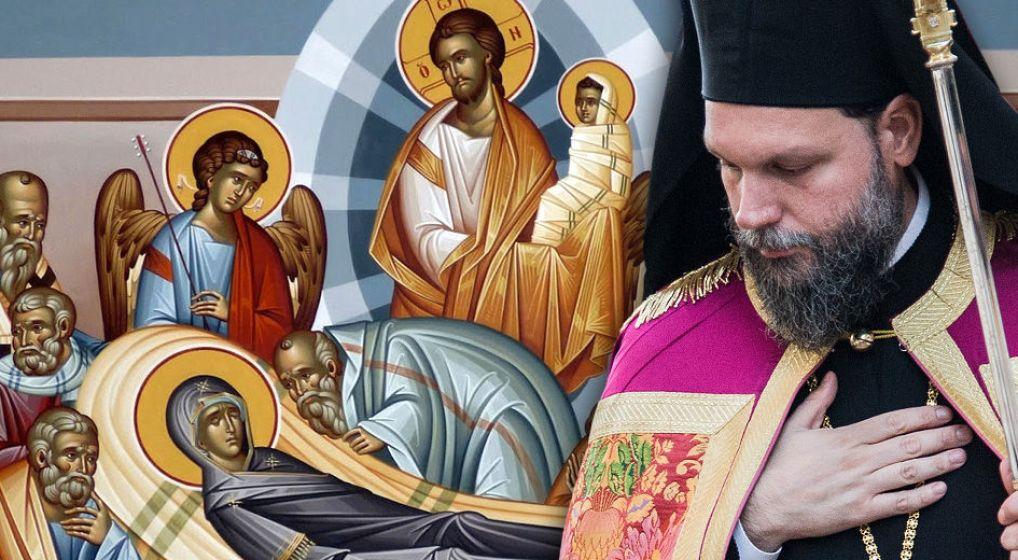 Προεόρτια Ιερά Αγρυπνία για την Κοίμηση της Θεοτόκου από τον Μητροπολίτη κ. Γαβριήλ
