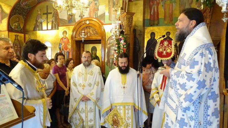 Εορτή Συνάξεως Παναγίας «Βηματάρισσας» στη Ν. Ιωνία
