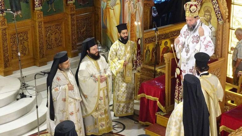 Η εορτή της Ανακομιδής των Ιερών Λειψάνων του Αγ. Νεκταρίου στο Ηράκλειο Αττικής