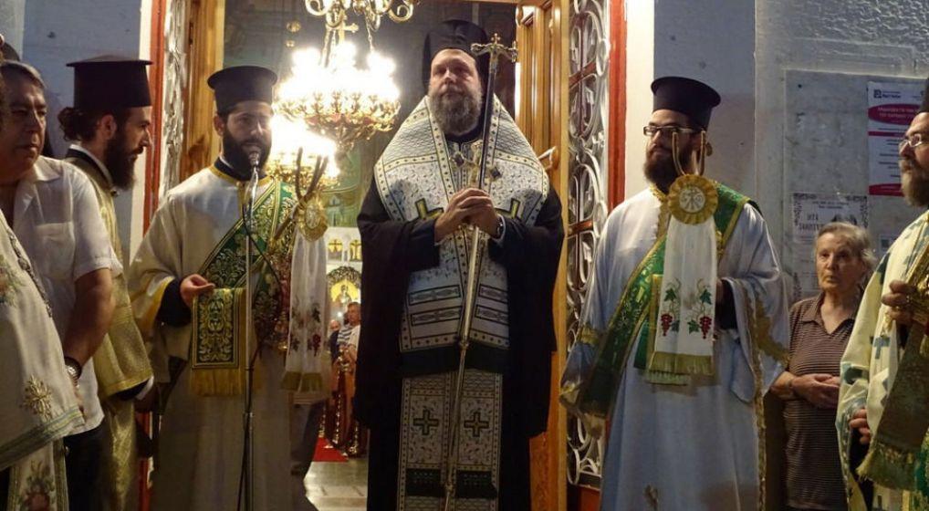 Μεθέορτος Εσπερινός και Λιτάνευση Ιεράς Εικόνος Αγ. Ευφημίας στη Νέα Χαλκηδόνα