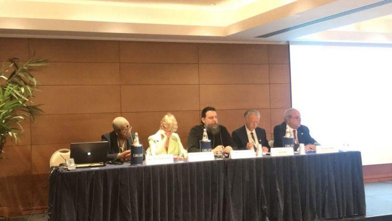Στην Παγκόσμια Διάσκεψη για την Ξενοφοβία, τον Ρατσισμό και τον Λαϊκιστικό Εθνικισμό συμμετείχε ο Μητροπολίτης Ν. Ιωνίας κ. Γαβριήλ