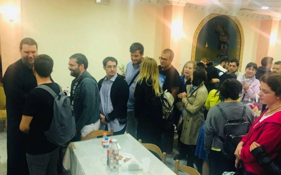 Συνάντηση Μητροπολίτη κ. Γαβριήλ με τους νέους της Ιεράς Μητροπόλεως