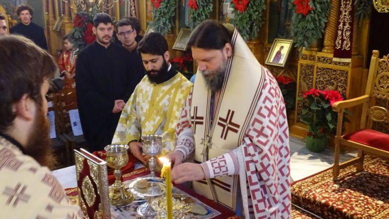 Η Θεία Λειτουργία του Αγίου Ιακώβου του Αδελφοθέου στην Καλογραίζα Νέας Ιωνίας