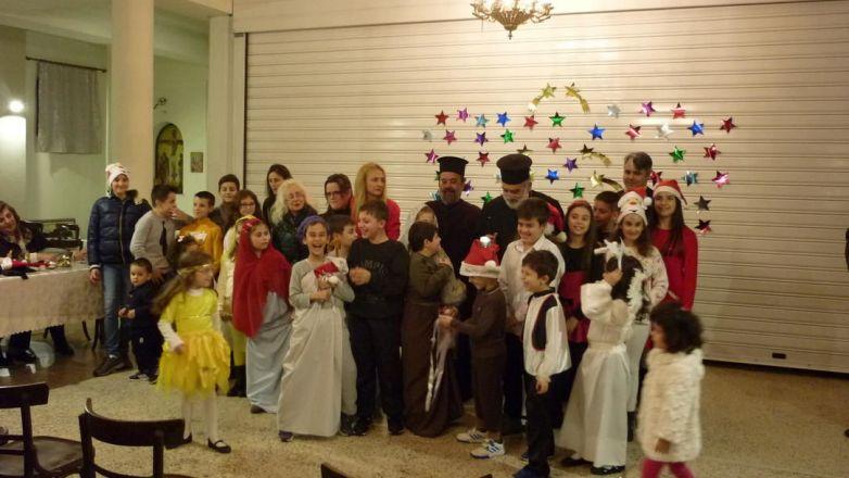 Χριστουγεννιάτικη εκδήλωση κατηχητικών σχολείων Ι.Ν. Αγ. Κοσμά Ν. Φιλαδελφείας