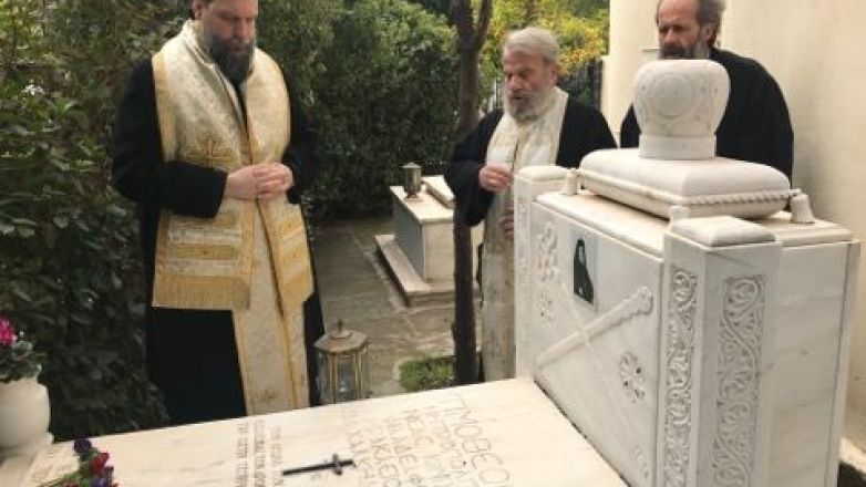 Τρισάγιο στη μνήμη του Μακαριστού Μητροπολίτου Τιμοθέου Ματθαιάκη από τον Μητροπολίτη κ. Γαβριήλ