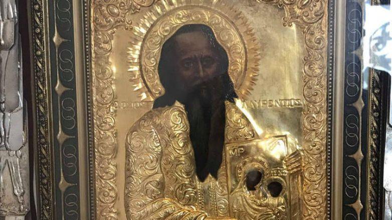 Περί της Ιεράς θαυματουργού Εικόνος του Οσίου Λαυρεντίου στη Νέα Ιωνία