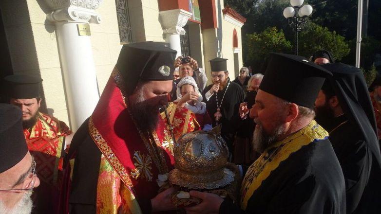 Δ' Κατανυκτικός Εσπερινός στη Ν. Ιωνία προς τιμήν του Αγ. Κωνσταντίνου του Υδραίου