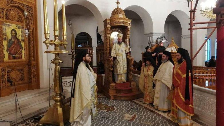 Διενοριακή Προσκυνηματική Εκδρομή Ιεράς Μητροπόλεως στον Άγιο Νεκτάριο στην Αίγινα
